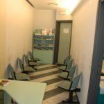 sala d'aspetto studio